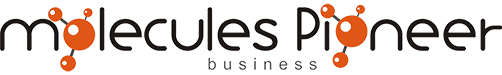 Molecules Pioneer Business Logo